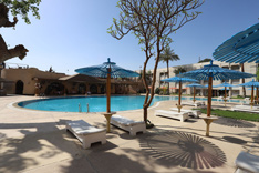 adults' pool in aracan portsaid hotel