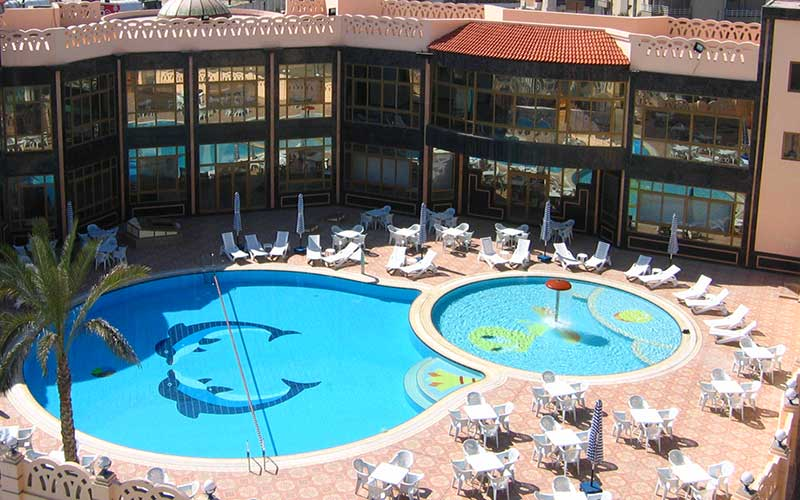 General pool in aracan portsaid hotel